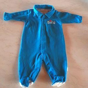 Size 000 Oshkosh blue onesie